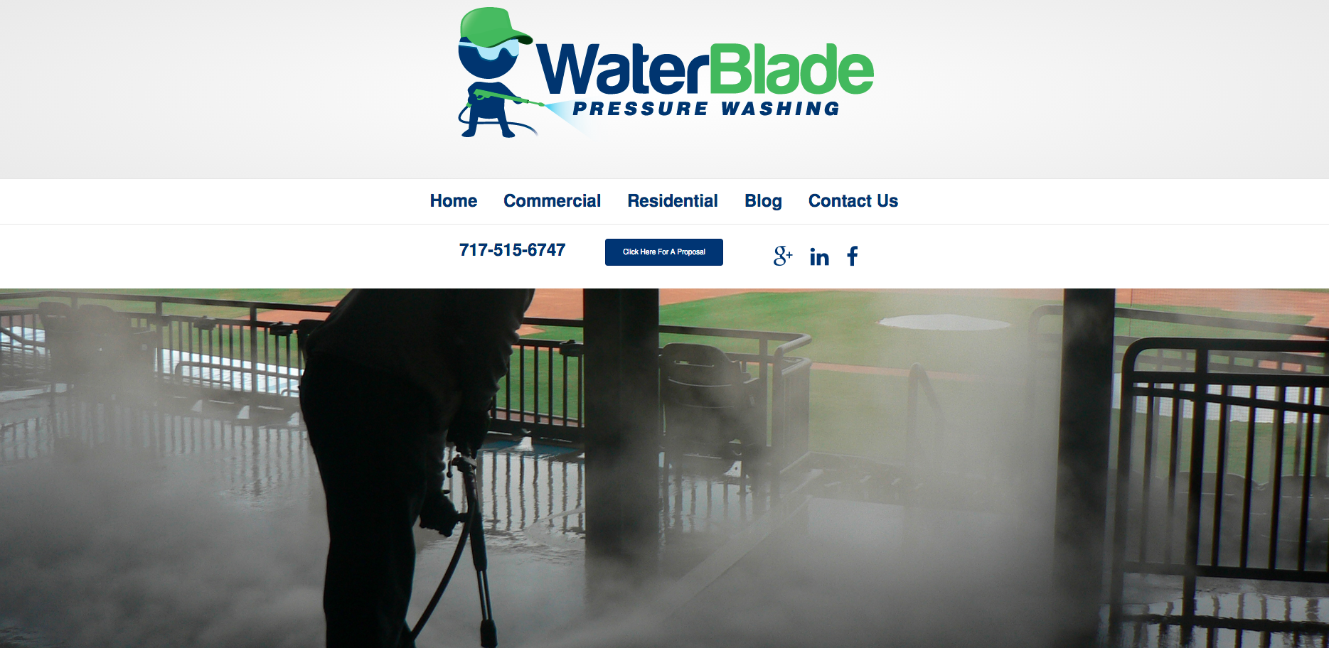 WaterBlade Pressure Washing